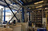 Un 97% de avance presenta el proyecto del nuevo modulo de purificación de agua en Copiapó