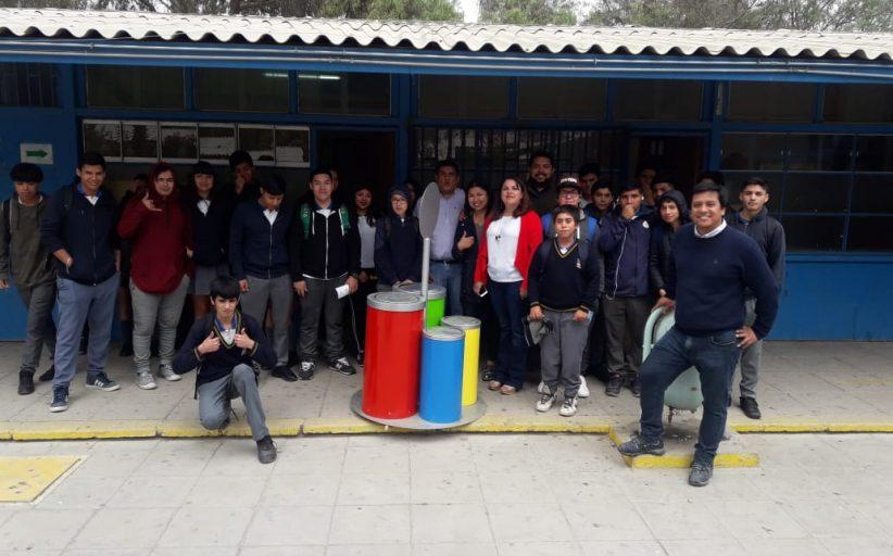Alumnos del Liceo Jorge Alessandri se certifican en cuidado del Medio Ambiente
