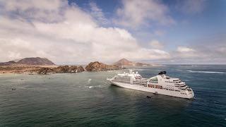 """Crucero """"Seabourn Quest"""" visita por unas horas isla Pan de Azúcar"""