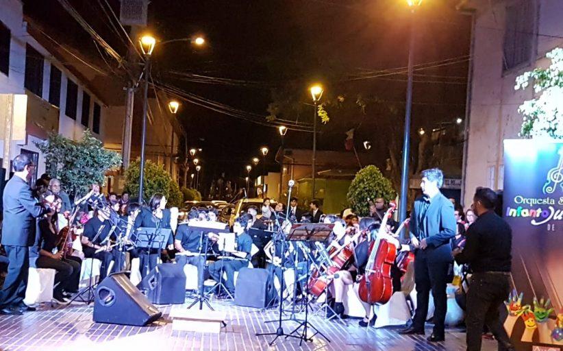Orquesta sinfónica infanto juvenil de Vallenar una proyección de talentos  Iniciativa financiada con recursos del gobierno