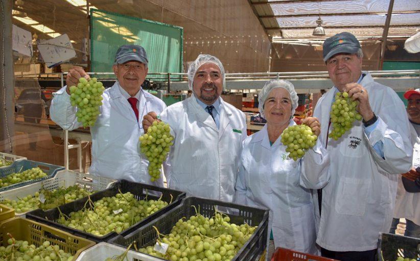 Seremi de Economía, Fomento y Turismo, Manuel Nanjarí junto al Intendente de Atacama, Francisco Sánchez, destacaron el récord de creación de empresas en el país y la región